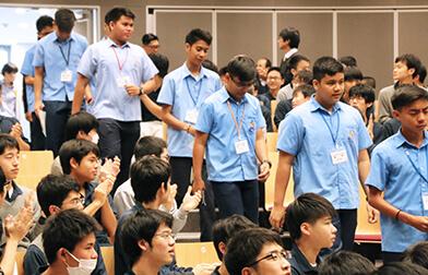 フィリピン姉妹校受け入れプログラム